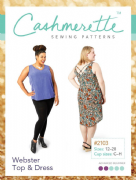 Webster Cashmerette Sewing Pattern